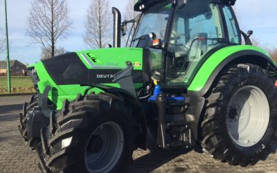 Nieuwe Deutz Fahr Agrotron 6140 voor Dhr. Leenders