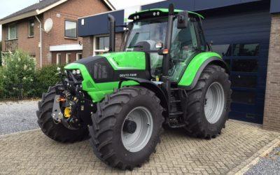 Nieuwe Deutz- Fahr 6160 cshift voor Dhr. Verhagen.