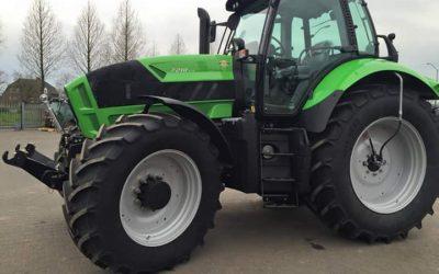 Nieuwe Deutz Fahr Agrotron 7210 TTV voor de firma Rongen