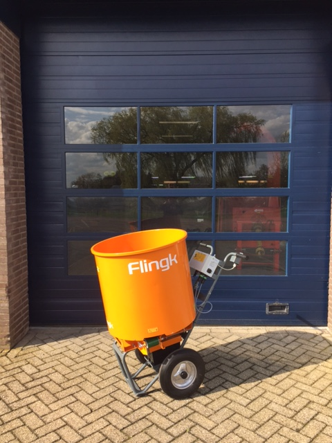 Nieuwe Flingk SE 250 voor Dhr Cornelissen.
