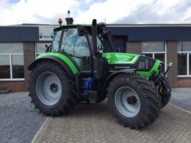 Nieuwe Deutz Fahr Agrotron 6180 TTV voor Dhr. Thelosen.