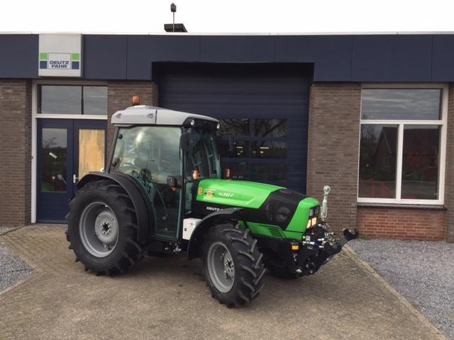 Nieuwe Deutz-Fahr Agroplus F430 voor boomkwekerij Ebben B.V.