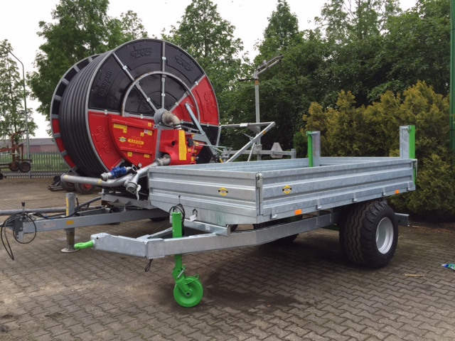 Nieuwe Zocon 4,5 tons kipper voor Dhr. Mooren