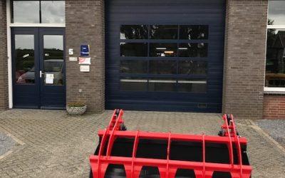Nieuwe Hekamp bak voor Dhr. Thelosen
