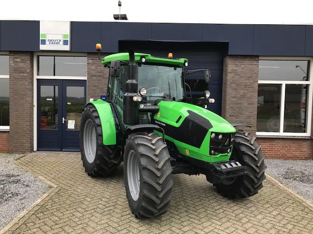 Nieuwe Deutz Fahr 5120 G voor Dhr Verbeek
